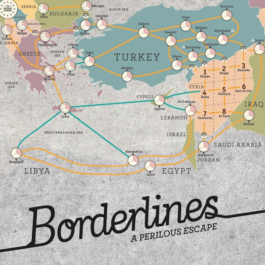 敘利亞難民桌上遊戲